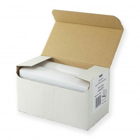 Boite 1000 étiquettes simples 170 x 44