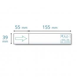 Etiquettes simples IJ 35 | IJ 40 | IJ 45 | IJ 50 pour Neopost