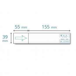 Etiquettes simples EVO 480 pour Satas