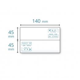 Etiquettes doubles IJ 25 TP | IJ 10 pour Neopost