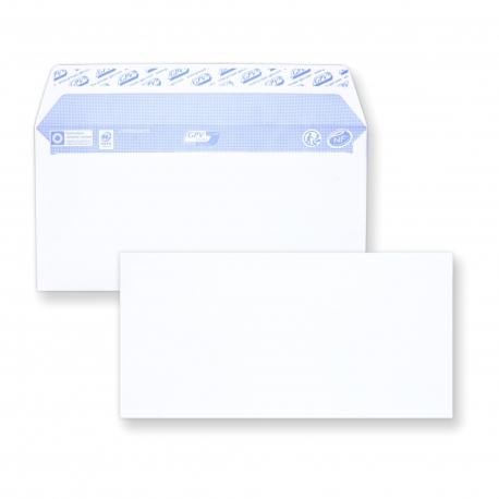 Enveloppe DL auto-adhésive - 110x200 sans fenêtre