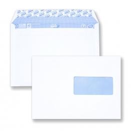 Enveloppe auto-adhésive C5 - 162x229 avec fenêtre 45x100