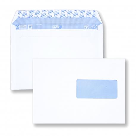 Enveloppes C5 162x229 Mm Avec Fenêtre