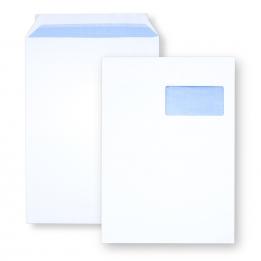 Enveloppe auto-adhésive C4 - 229x324 avec fenêtre 50x100