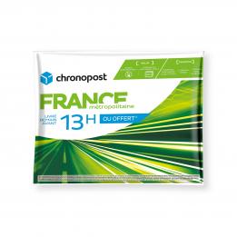 Prêt-à-Expédier Chrono 13 pochette gonflable 2 kg France métropolitaine