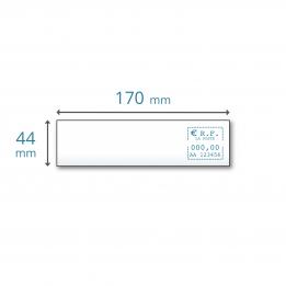 Etiquettes simples 170 x 44