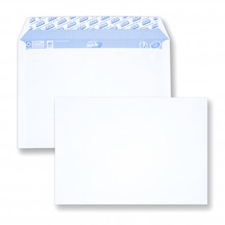 Enveloppe auto-adhésive C5 - 162x229 sans fenêtre