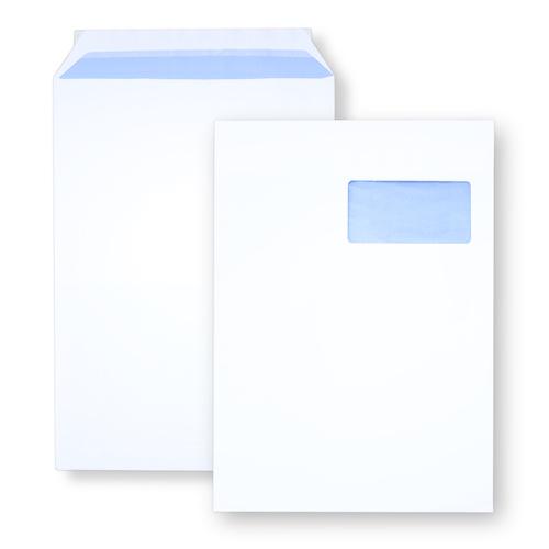 Enveloppe auto-adhésive C4 229x324 avec fenêtre