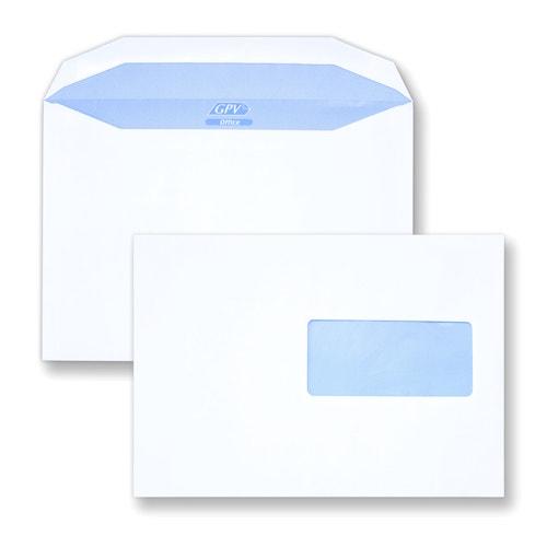 Enveloppe mécanisable C5 162x229 avec fenêtre