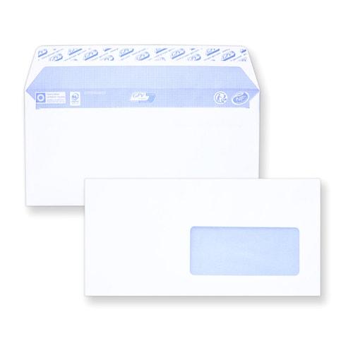 Enveloppe auto-adhésive DL 110x220 avec fenêtre