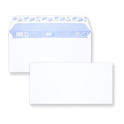 Enveloppe auto-adhésive DL 110x220 sans fenêtre