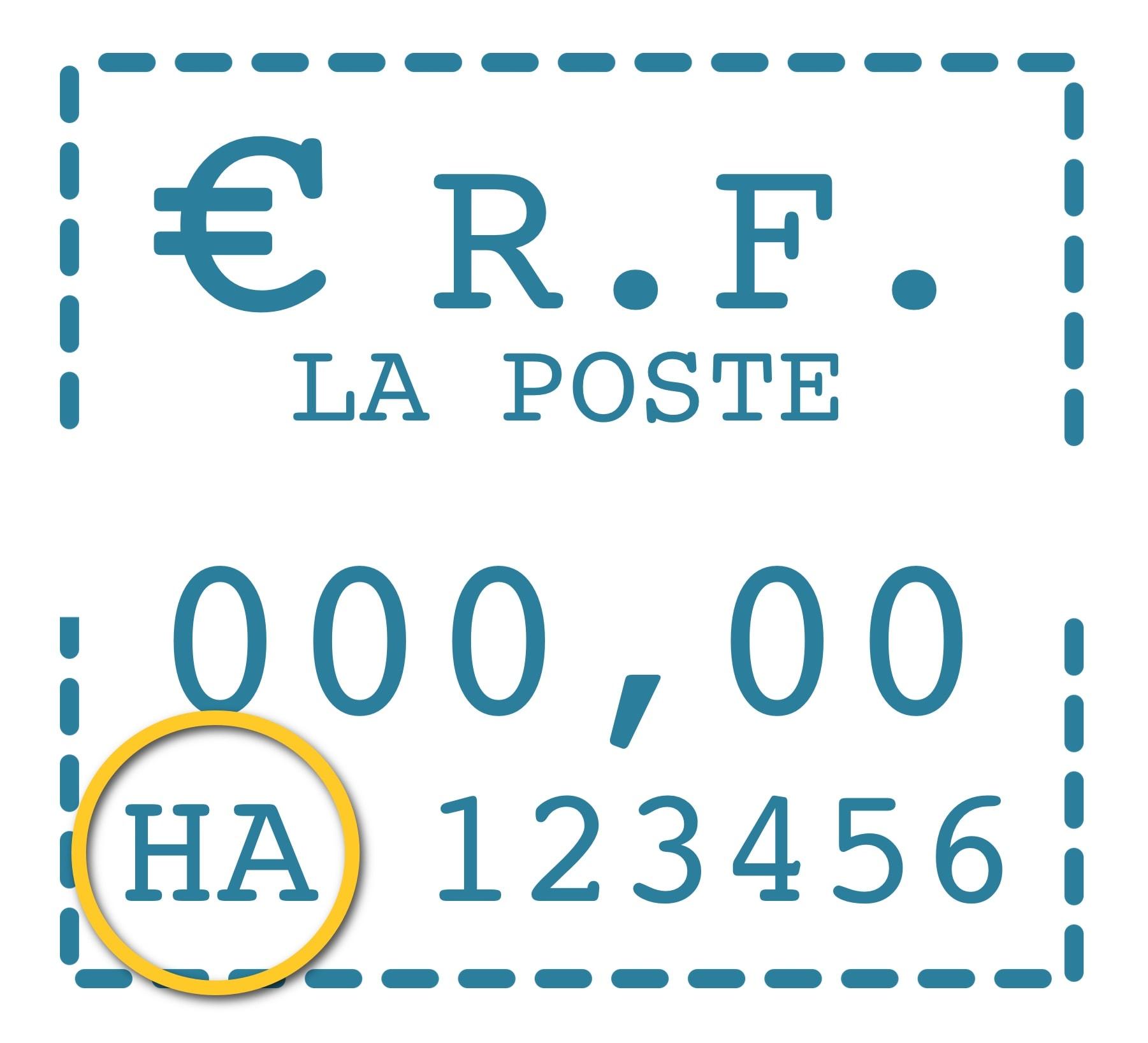 Identifier les cartouches pour machines à affranchir dont j'ai besoin à partir du timbre d'affranchissement