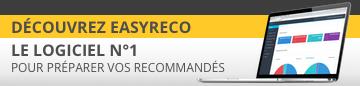 easyReco logiciel n°1 pour préparer vos supports recommandés